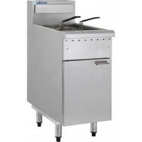 Deep Fryer - Single Pan Twin Baskets | FG-40