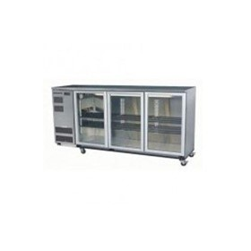 Backbars BB580 3 Swing Doors Chiller