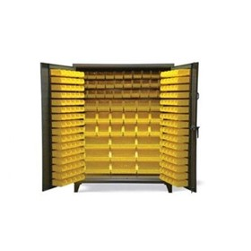 Multi-Size All Bin Storage Cabinet