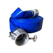Blue Layflat Hose Kit with Camlocks