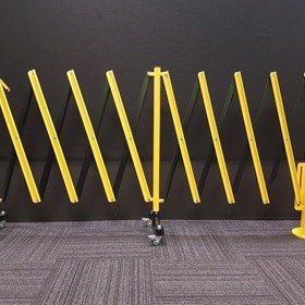 Verge Rotating Expandable Safety Barriers - GV522