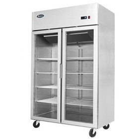 Upright Glass Door Freezer | MCF8602 – Double Door 1300 Liters