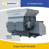 One Shaft UBC Shredder | Aluminum Can Shredding Machine