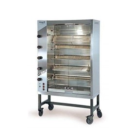 Spit Roast Rotisserie Oven | GINOX 6 Gas
