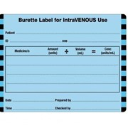 Injectable Medicine Identification Labels Intravenous Burette