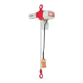 PWB | EDL Series Electric Chain Hoist - Single Speed (Pendant)