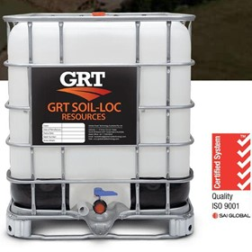 Dust Supression Solution | GRT Soil-Loc Resources