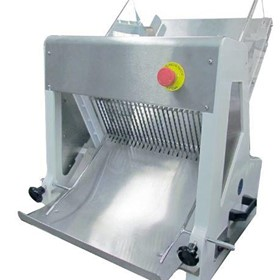 15mm bench mounted bread slicer