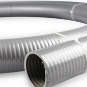 PVC Grey Suction Water Pump Transfer Hose - 100mm (4 inch)