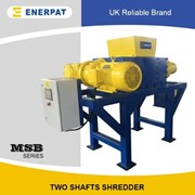 Universal Light Metals Two Shaft Shredder | MSB-60