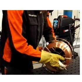 Kemppi X8 MIG Welder – Changing the Wire Spool