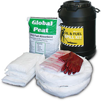 Spill Kit - Oil and Fuel Barrel 75L Absorbent Capacity (SKH60P)