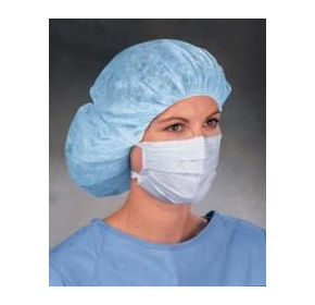Surgical Mask with Ties | Blue