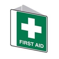 3D Sign First Aid 225x225 Poly