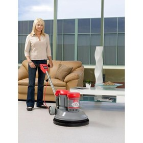 Commercial Floor Polisher I Rotobic G-Force Suction Polisher