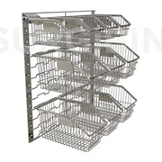 SURGIBIN Module Kits - Wire Baskets 450mm Series
