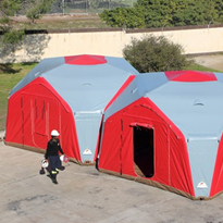 Portable Inflatable Shelters | Xbeam Site-Office
