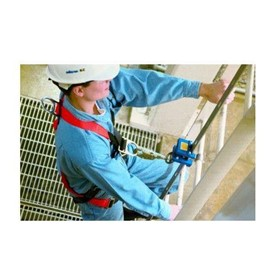 Fixed Ladder Fall Protection System