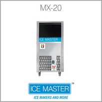 Self Contained Ice Maker | ICE MASTER MX 20 Made in Italy