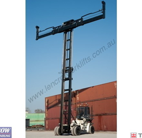 Terex Reach Stacker | Container Handling Forklift
