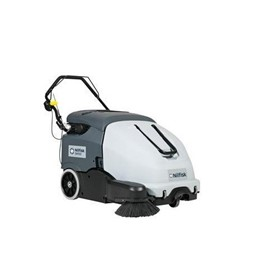Nilfisk Battery Operated SW900 Walk-Behind Floor Sweeper