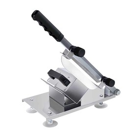 Manual Frozen Meat Slicer 18/10 Commercial Stainless Steel