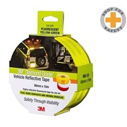 Diamond Grade Vehicle Reflective Tape 50.8mm x 15m Yellow/Green