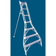 Aluminium Orchard Access Ladder 3.81m Flat Top | Allweld