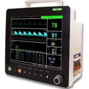 "PM6000VCS 12"" Vet Multi-Parameters Monitor-ECG/SPO2/ETCO2/NIBP/TEMP"
