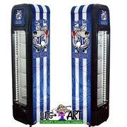 Weg Art Football Club Branded Bar Fridges - 135 Litre SK135-WEG