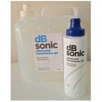 5 Litres Clear Ultrasound Gel Container and Dispenser Bottle