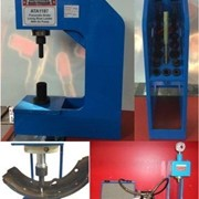 Truck Brake Lining Shoe Rivet Loader