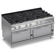 8-Burner Gas Cooktop with 2 Gas Ovens | 9PCF/G1605
