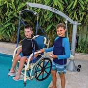 Aquatic Pool Manual Wheelchair – Standard 120-150kg