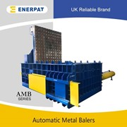 UK Enerpat Hydraulic Scrap Metal Baling Machine