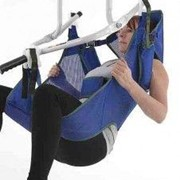 Cradle Toileting Patient Sling with Head Support