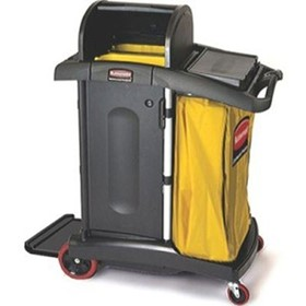 Housekeeping & Cleaning I High Security Cleaning Cart