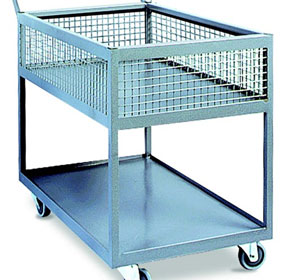 Industrial Trolley IT2TC340 | Castors & Industrial