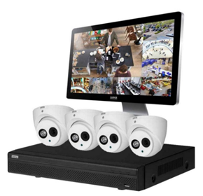 4 channel Surveillance Camera and Recorder Kit | Judge™