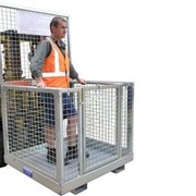 Safety Work Cages | Mesh Work Platform