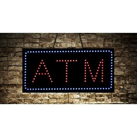 Animated ATM LED Sign