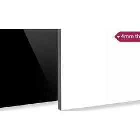 Aluminium Composite Panel 4MM Feve Semi Gloss Black/ White(ALPV233)
