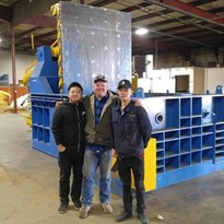 Automatic Hydraulic Metal Baler for Mattress Springs
