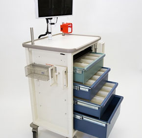 All In One Medication Cart