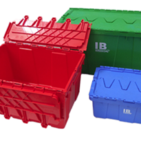 Plastic Security Crates | IB Croc teeth Crates