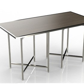 Buffet Table | Mobile Cross Cube Set Top | Rectangle
