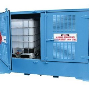 Dangerous Goods Storage | Outdoor Relocatable | 2000L Bulkibox