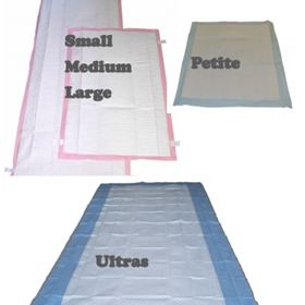 Absorbent Pads and Sheets
