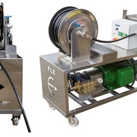 Euro Pumps | Cleaning Machines | FLX System - Flexable Cleaning System