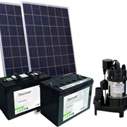 Solar Powered Septic Pump Kit 2
